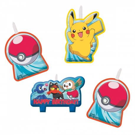 4-bougies-pokemon - MyPartyKidz