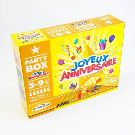 Party Box Joyeux Anniversaire My Party Kidz