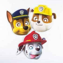 8 Masques Pat Patrouille