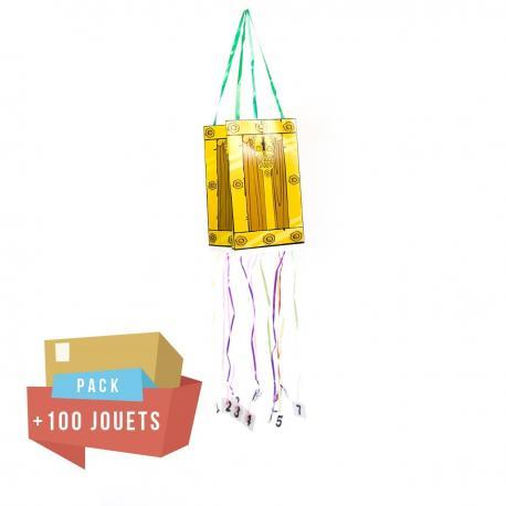 Pack pinata malle aux trésors + 100 jouets - My Party Kidz