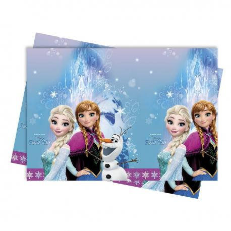 Nappe en plastique Reine des Neiges - 120 x 180 cm - My Party Kidz