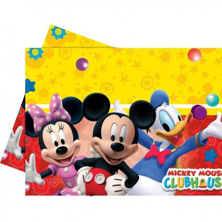 Nappe en plastique Mickey - 120 x 180 cm - My Party Kidz