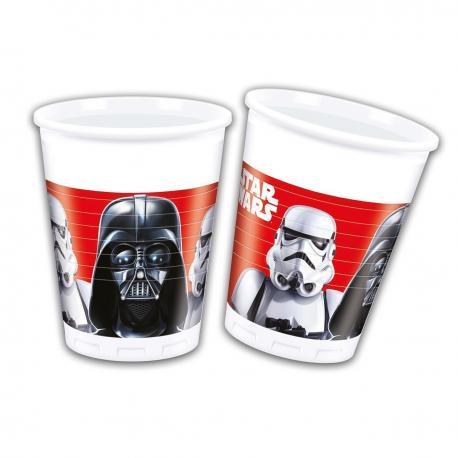 8 Gobelets en plastique Star Wars Final Battle - 20 cl - My Party Kidz