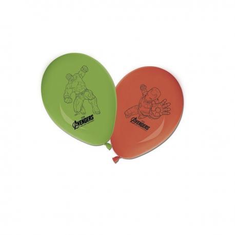 8 Ballons imprimés Avengers - My Party Kidz
