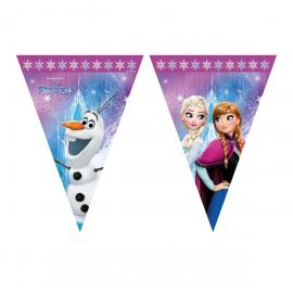 Guirlande Fanions Reine des Neiges - 2,30 m - My Party Kidz