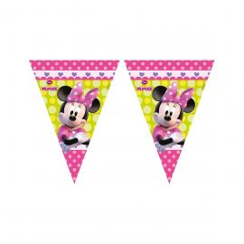 Guirlande Fanions Minnie - 2,30 m - My Party Kidz