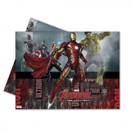 Nappe en plastique Avengers - 120 x 180 cm - My Party Kidz