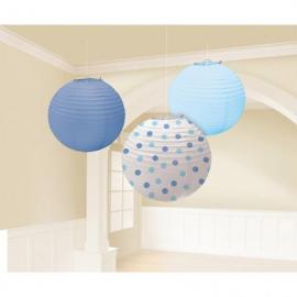 3-lanternes-bleu - MyPartyKidz
