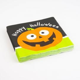 20 Serviettes en papier Halloween - 33 x 33 cm - My Party Kidz