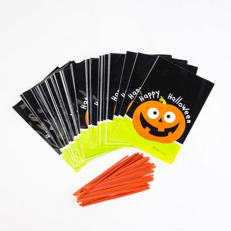 50 Sachets à Friandises Halloween - My Party Kidz