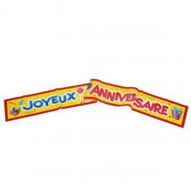 Banderole Joyeux Anniversaire - 90 cm - My Party Kidz
