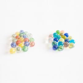 Billes 16 mm pépites et perles 2 x 20 - My Party Kidz