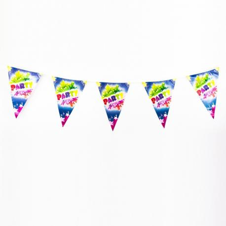 Guirlande Fanions Party - 2,70 m - My Party Kidz