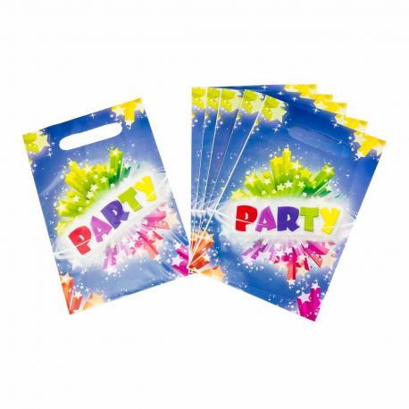 6 Sacs à Bonbons Party - My Party Kidz