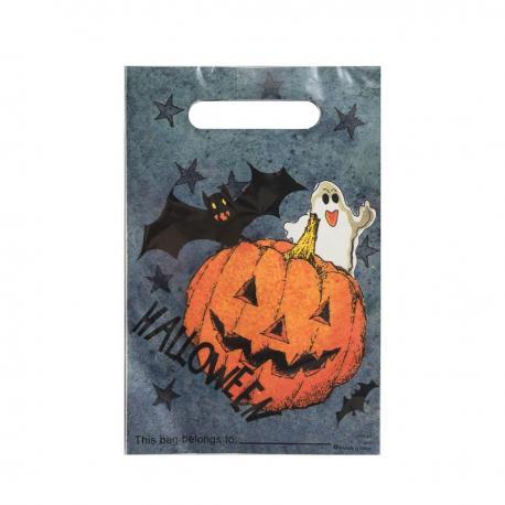 6 Sacs à Bonbons Dark Halloween - MyPartyKidz