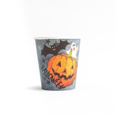 6 gobelets Dark Halloween- 20 cl - MyPartyKidz