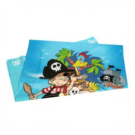 Nappe en plastique Pirate - 130 x 180 cm - My Party Kidz