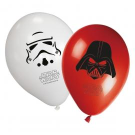 8 Ballons imprimés Star Wars Final Battle