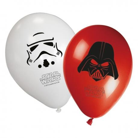 8 Ballons imprimés Star Wars Final Battle - My Party Kidz