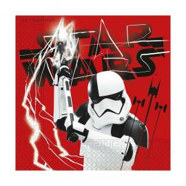 20 Serviettes en papier Star Wars The Last Jedi - 33 x 33 cm - My Party Kidz