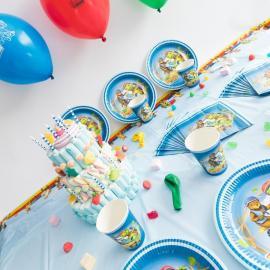 Kit Anniversaire 12 Personnes Franklin et ses amis - My Party Kidz