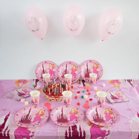 Kit Anniversaire 12 Personnes Princesse - My Party Kidz