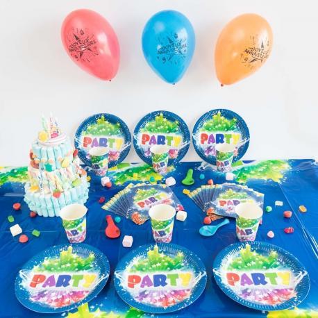 Kit Anniversaire 6 Personnes Party - My Party Kidz