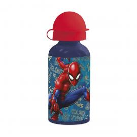 Gourde aluminium Spiderman - 400 ml - My Party Kidz