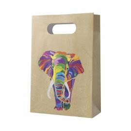 6 Sacs de Fête en papier Eléphant