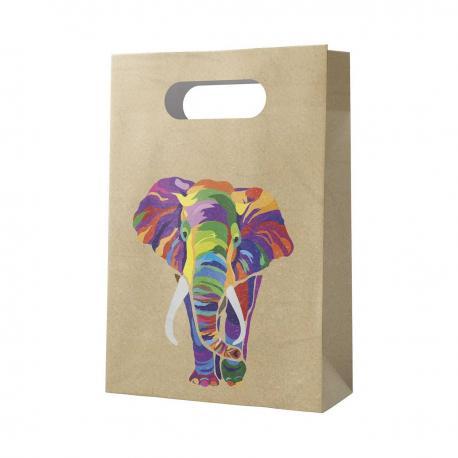 6 Sacs de fête en papier Elephant - My Party Kidz