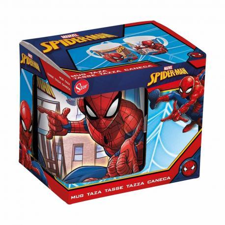 Coffret mug en céramique Spiderman - My Party Kidz