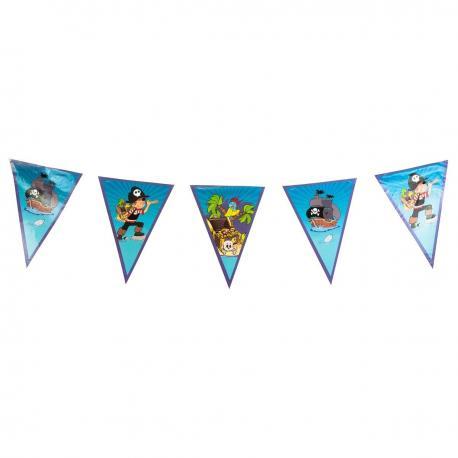 Guirlande Fanions Pirate - 2,70 m - My Party Kidz