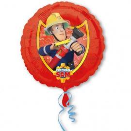 Ballon alu - Sam Le Pompier - 45 cm - MyPartyKidz