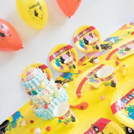 Kit Anniversaire 6 Personnes Barbapapa - My Party Kidz