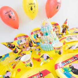 Méga Kit Anniversaire 12 Personnes Barbapapa - My Party Kidz