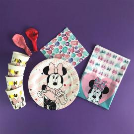 Kit Anniversaire 8 Personnes Minnie Party Gem - My Party Kidz