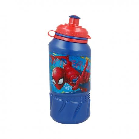 Gourde en plastique Spiderman - 420 ml - My Party Kidz