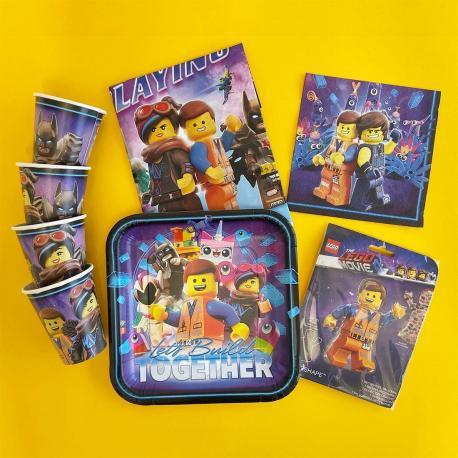Kit Anniversaire 8 personnes Lego - My Party Kidz