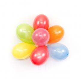 50 Ballons multicolores - 23 cm