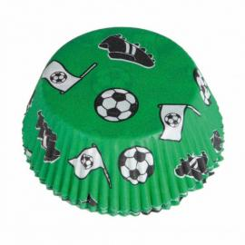 48 Caissettes à Cupcakes Football Kicker Party - My Party Kidz