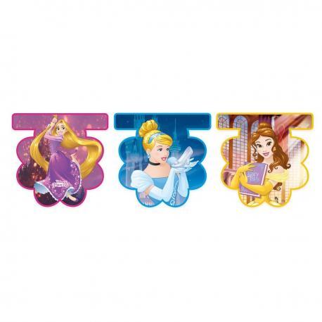 Guirlande Fanions Princesses Disney - 2,30 m - My Party Kidz