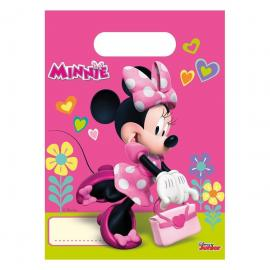 6 Sacs à Bonbons Minnie - My Party Kidz