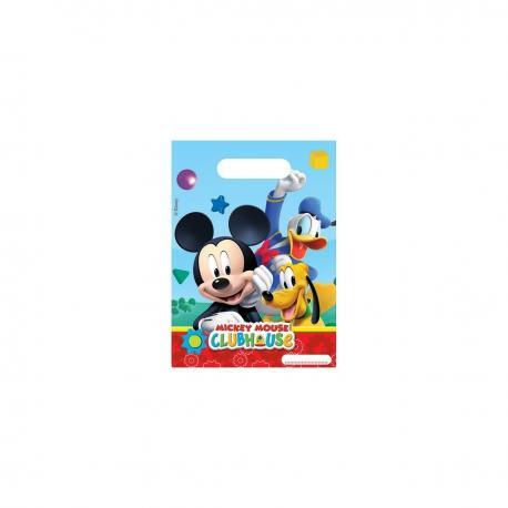 6 Sacs à Bonbons Mickey - My Party Kidz