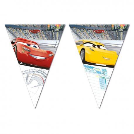 Guirlande Fanions Cars 3 - 2,30 m - My Party Kidz