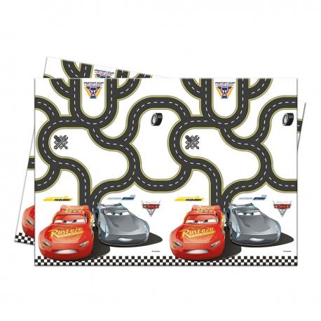 Nappe en plastique Cars 3 - 120 x 180 cm - My Party Kidz