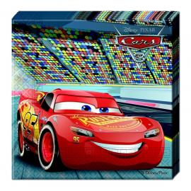 20 Serviettes en papier Cars 3 - 33 x 33 cm - My Party Kidz