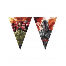Guirlande Fanions Avengers - 2,30 m - My Party Kidz