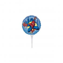 3 Ballons métal Spiderman - 23 cm - My Party Kidz