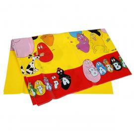 Nappe en plastique Barbapapa - 130 x 180 cm - My Party Kidz