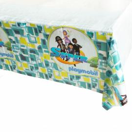 Nappe en plastique Playmobil Super 4 - 130 x 180 cm - My Party Kidz